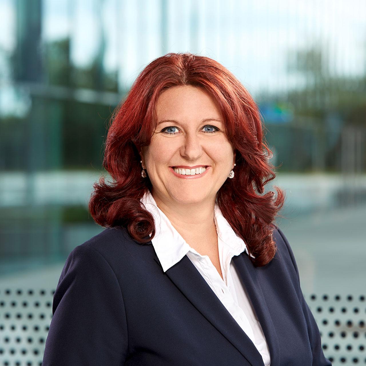 Projektassistentin Doris Kaltenbach